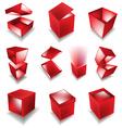 giftbox set vector image vector image