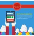 Responsive web design concept vector image