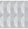 retro geometric gray seamless pattern vector image