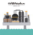 Oil and Petroleum vector image