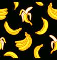 seamless pattern bananas vector image