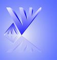 techno logo vector image