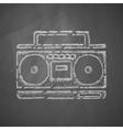 cassette recorder icon vector image