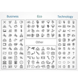 Icons Collection vector image
