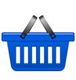 Blue Basket vector image