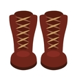 boots fashion isolated icon design vector image