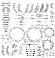 set of elements for design vector image