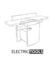 woodworking jointer on white background vector image