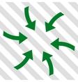 Twirl Arrows Icon vector image