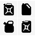 Jerrycans vector image