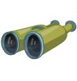 cartoon home miscellaneous binocular vector image