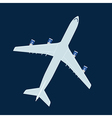 Jet liner vector image