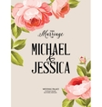 The marriage sign label vector image