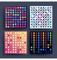 Trendy music dj minimalistic 2d graphic vector image vector image