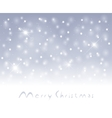 winter snowfall vector image