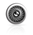 Jet engine vector image
