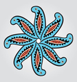 paisley star vector image