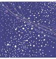 snow falling vector image vector image