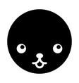 cute kawaii pet vector image