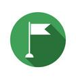flag icon vector image