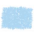 winter grunge texture vector image