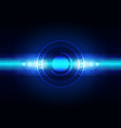 abstract digital future technology concept vector image