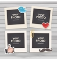 template frame vector image