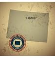 Colorado vector image