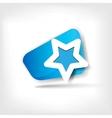 Star favorite web icon vector image