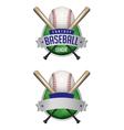 fantasy baseball draft vector image