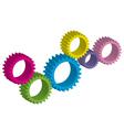 cog-wheel vector image