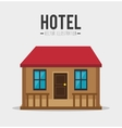 hotel products and services design vector image
