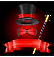 Magician Hat vector image vector image