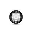 tires store logo template vector image