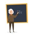 Scientist at the Blackboard vector image