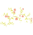 Pattern in the form of sakura branch EPS10 vector image