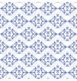 white blue seamless pattern vector image