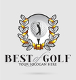 best-of-golf vector image vector image