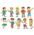 Funny cartoon character vector image vector image