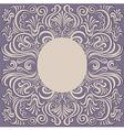 pattern swirl frame vector image