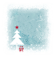 Winter Christmas background vector image vector image