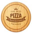 board pizza vector image