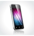 shiny mobile device vector image