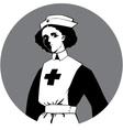World War One Nurse Clipart vector image
