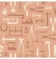 Vintage Tools And Instruments Pattern 3 vector image