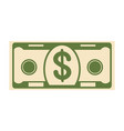 money paper banknote vector image