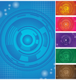 cyber wallpapers vector image