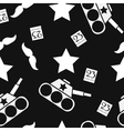 Seamless pattern to the day of defender vector image