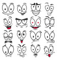 smile cartoon emoticons and emoji faces vector image