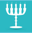 candlestick icon vector image